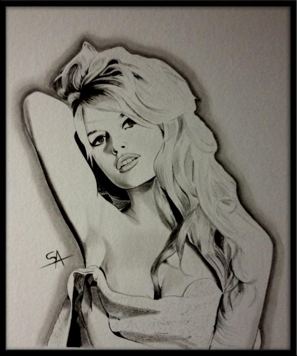 Brigitte Bardot por DarkSnake